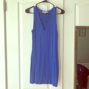 Royal Blue Form-Fitting Dress